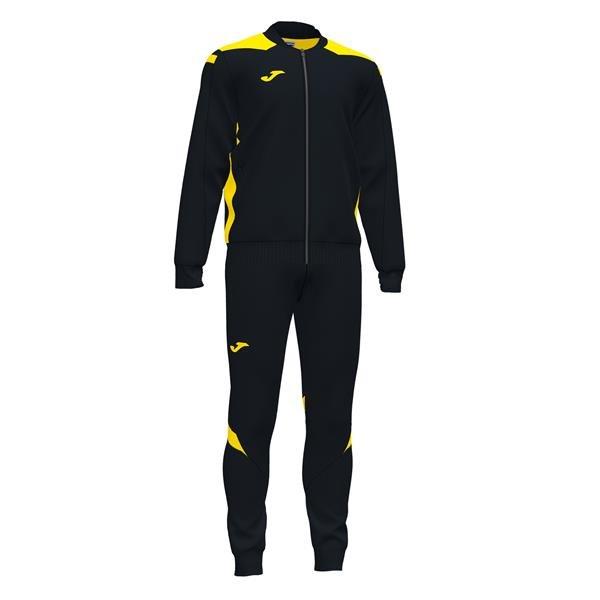 Joma Championship VI Black/Yellow Tracksuit