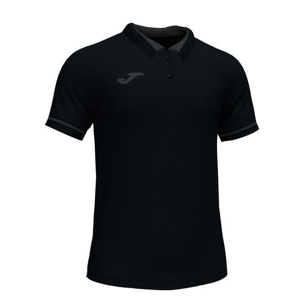 Joma Championship VI Black/Anthracite Polo