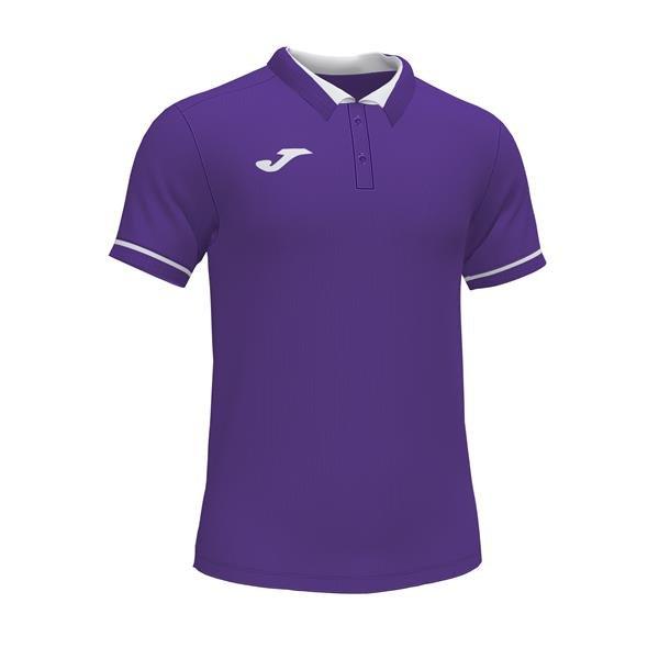 Joma Championship VI Purple/White Polo
