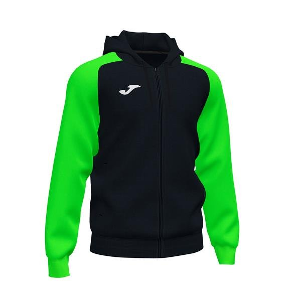 Joma Academy IV Black/Fluo Green Full Zip Hoody