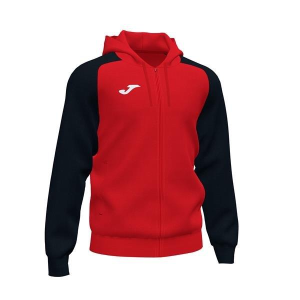 Joma Academy IV Red/Black Full Zip Hoody