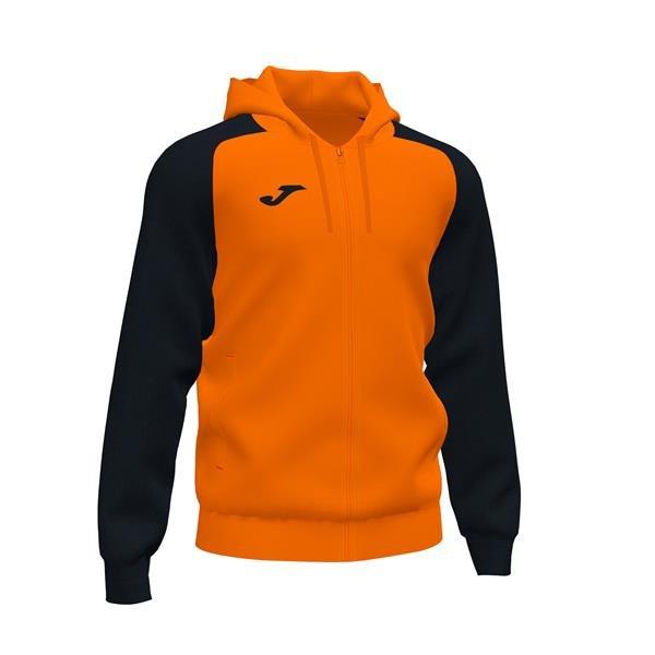 Joma Academy IV Orange/Black Full Zip Hoody