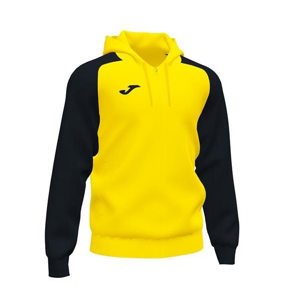 Joma Academy IV Yellow/Black Full Zip Hoody