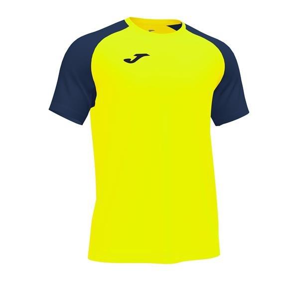 Joma Academy IV SS Football Shirt Royal/white