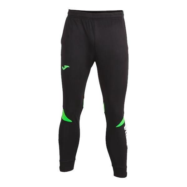 Joma Championship VI Black/Fluo Green Long Pant