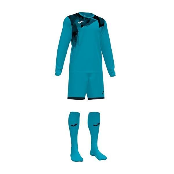 Joma Zamora VI Goalkeeper Set Turquoise/Black