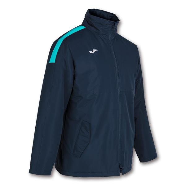 Joma Trivor Bench Jacket Navy/Fluo Turquoise