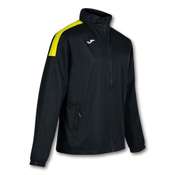 Joma Trivor Rain Jacket Black/Yellow