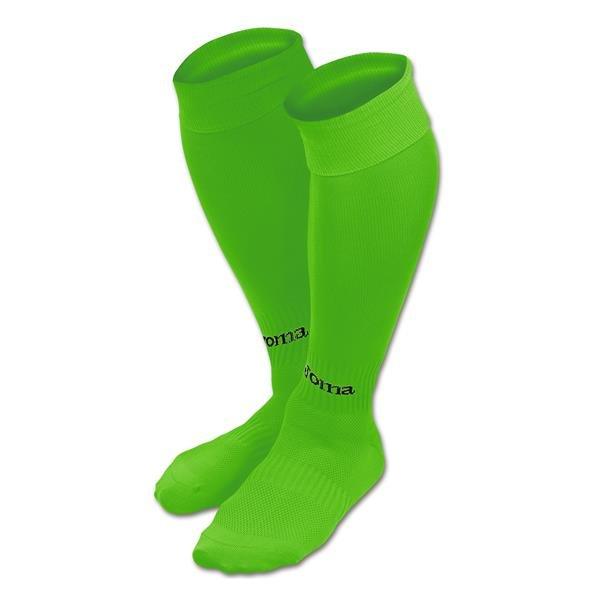 Joma Classic II Fluo Green Football Sock