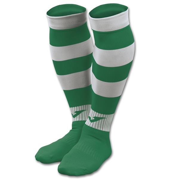 Joma Zebra II Green/White Football Sock