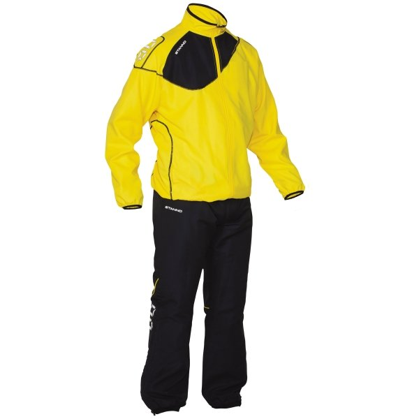 Stanno Yellow/Black Montreal Micro Taslan Suit