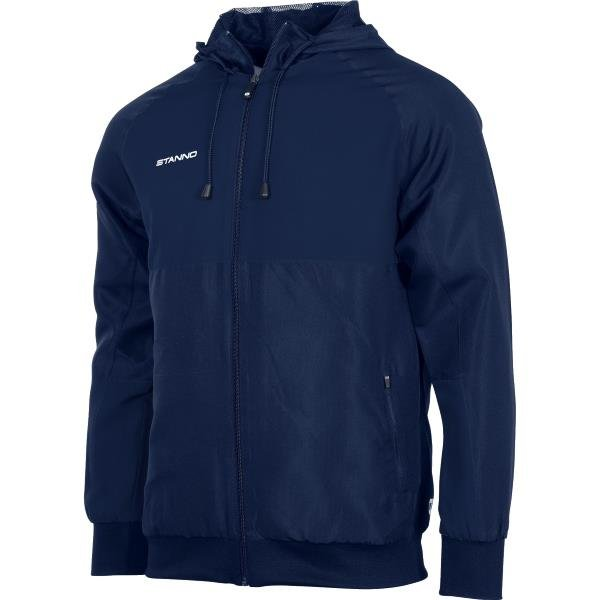 Stanno Centro Hooded Jacket Navy