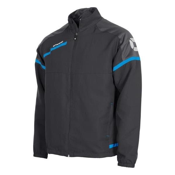 Stanno Prestige Dark Grey/Blue Micro Jacket