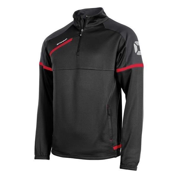 Stanno Prestige Black/Red TTS Top Half Zip