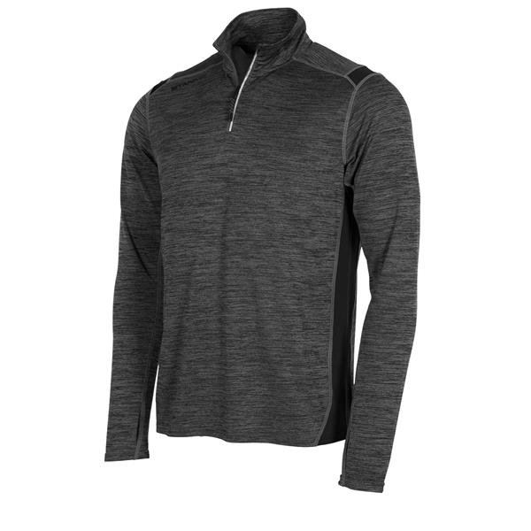 Stanno Functionals Work Out Top 1/4 Zip Black