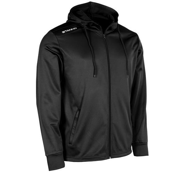 Stanno Field Black Hooded Jacket