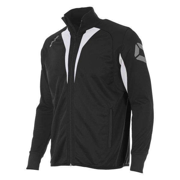 Stanno Riva Full Zip Poly Jacket Black/White