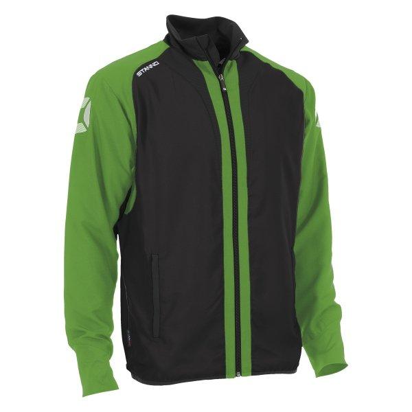 Stanno Riva Woven Jacket Black/Bright Green