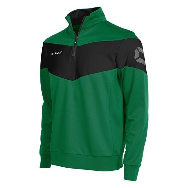 Stanno Fiero TTS Top Half Zip Green/Black