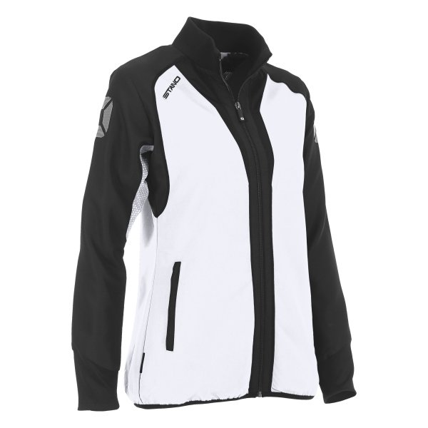Stanno Riva Woven Jacket White/Black Ladies
