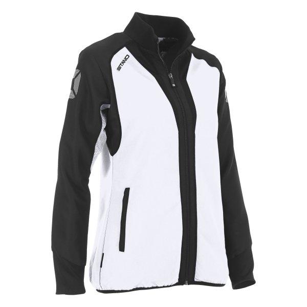 Stanno Riva Woven Jacket White/Black Ladies