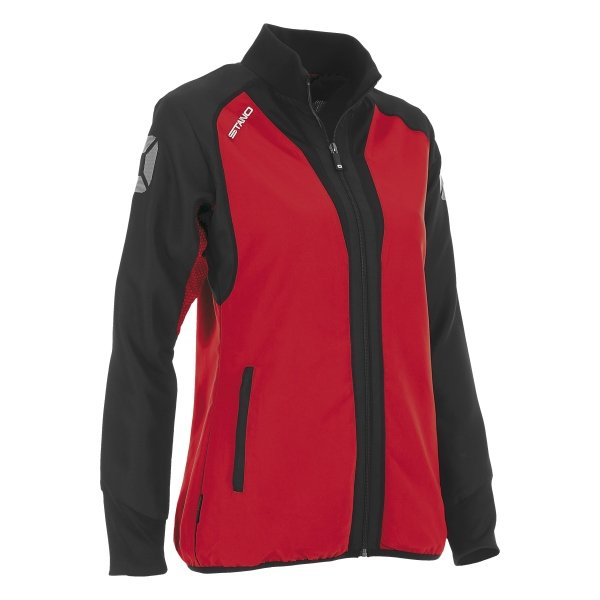 Stanno Riva Woven Jacket Red/Black Ladies