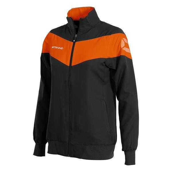 Stanno Fiero Micro Jacket Ladies Black/Orange