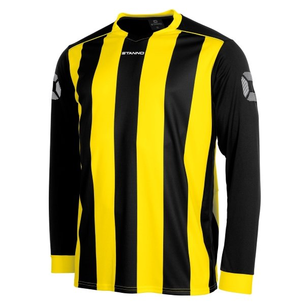 Stanno Brighton Black/Yellow Football Shirt