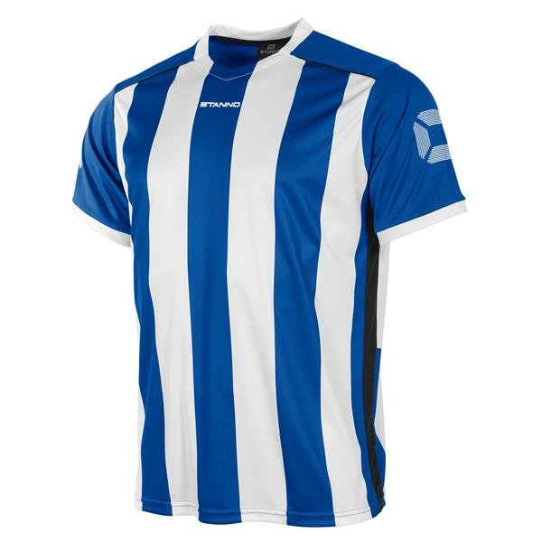 Stanno Brighton SS Football Shirt Royal/white