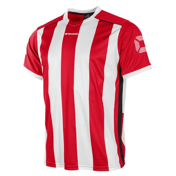 Stanno Brighton Red/White SS Football Shirt