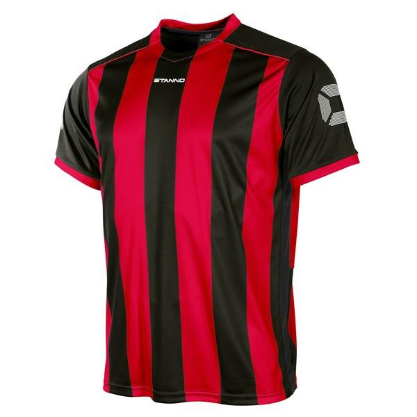 Stanno Brighton Red/Black SS Football Shirt