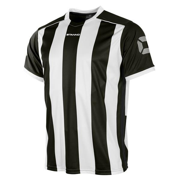 Stanno Brighton Black/White SS Football Shirt