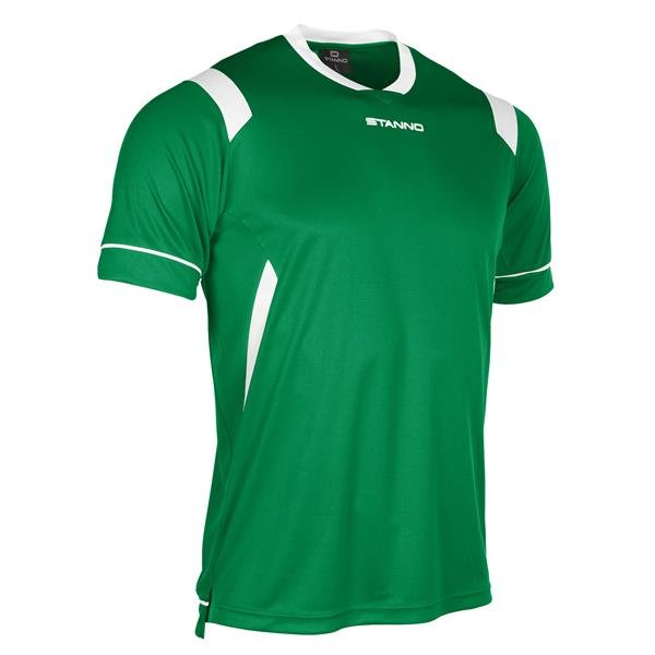 Stanno Arezzo SS Football Shirt Yellow/green