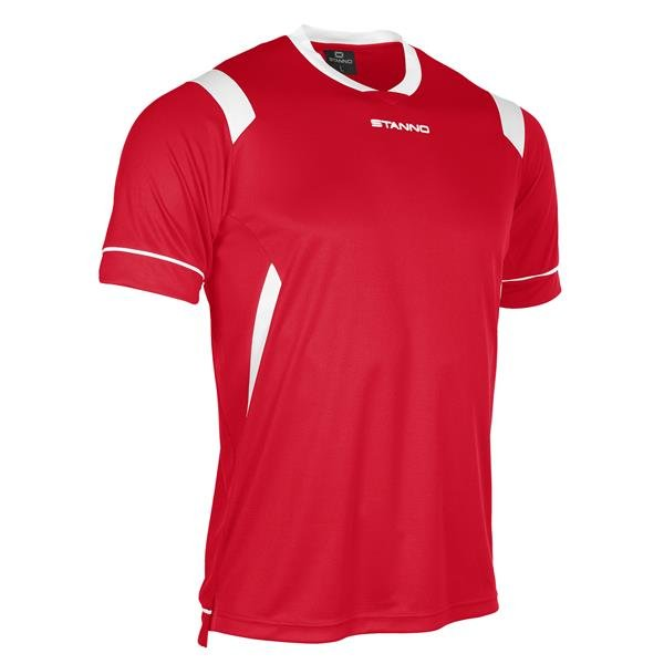 Stanno Arezzo SS Red/White Football Shirt