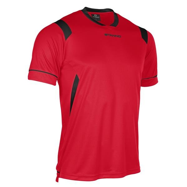 Stanno Arezzo SS Red/Black Football Shirt