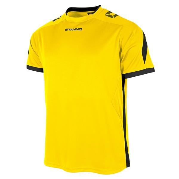Stanno Drive Yellow/Black SS Football Shirt