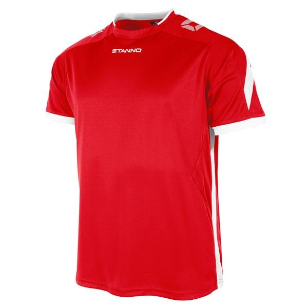 Stanno Drive Red/White SS Football Shirt