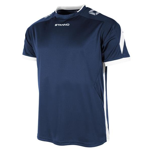 Stanno Drive Navy/White SS Football Shirt