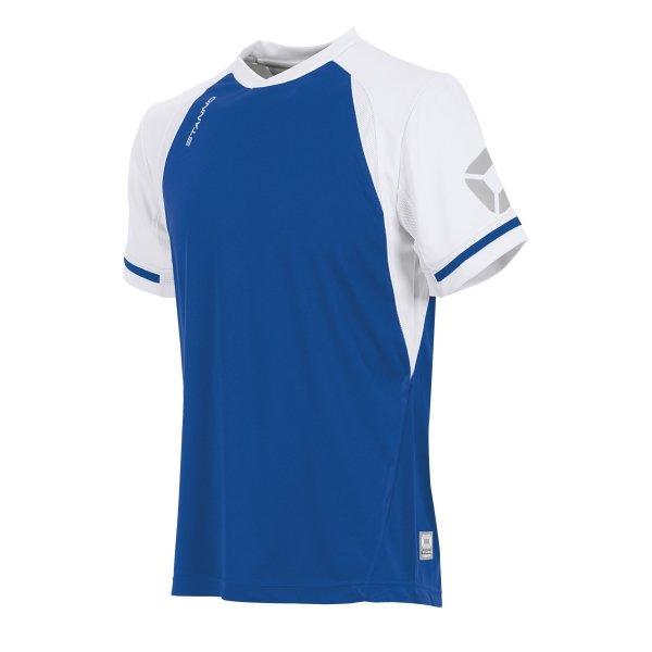 Stanno Liga Royal/White SS Football Shirt