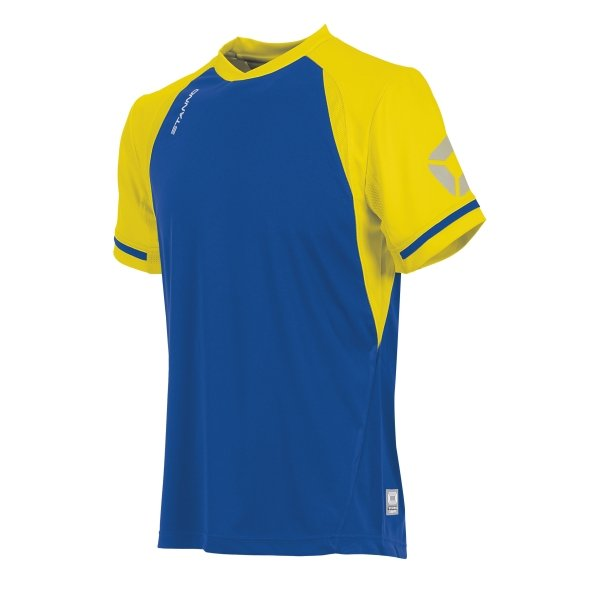Stanno Liga Royal/Yellow SS Football Shirt