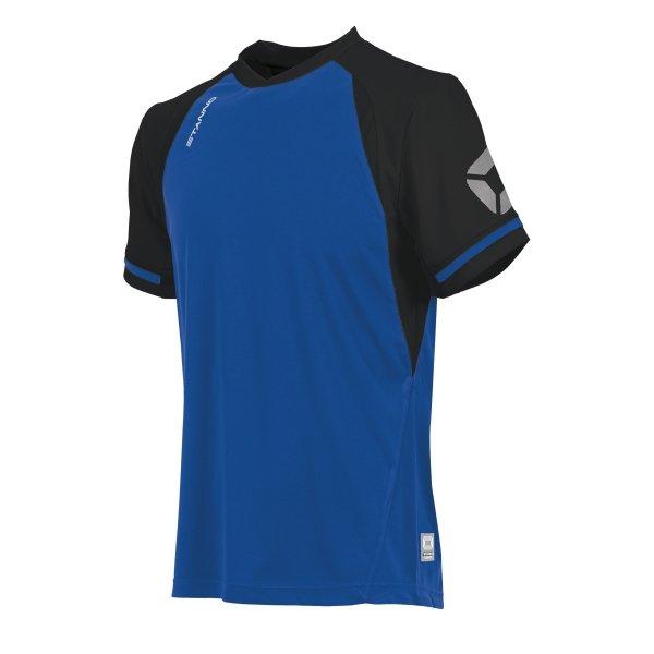 Stanno Liga Royal/Black SS Football Shirt