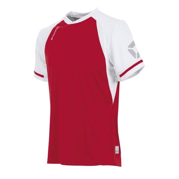 Stanno Liga Red/White SS Football Shirt