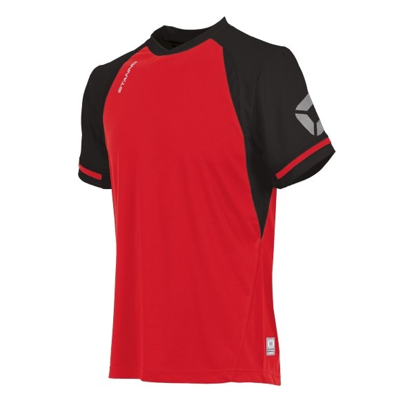 Stanno Liga Red/Black SS Football Shirt