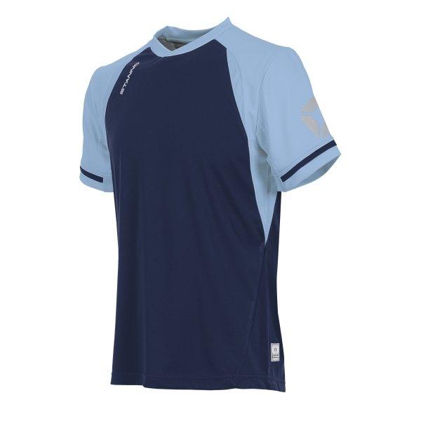 Stanno Liga Navy/Sky SS Football Shirt