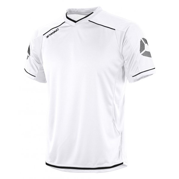 Stanno Futura SS Football Shirt White/black