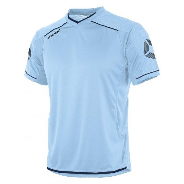 Stanno Futura Sky/Navy Short Sleeve Football Shirt