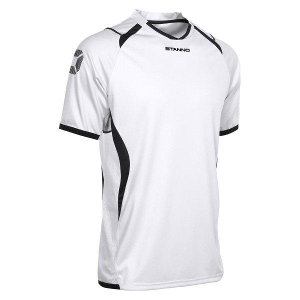 Stanno Olympico SS Football Shirt White/black