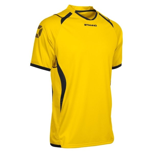 Stanno Olympico SS Football Shirt Yellow/Black