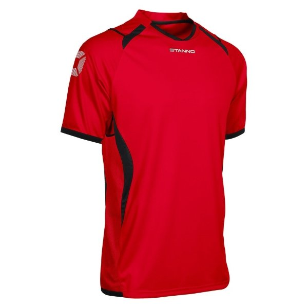 Stanno Olympico SS Football Shirt Red/Black