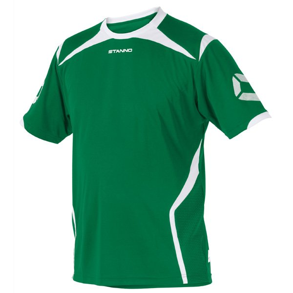 Stanno Torino SS Football Shirt Yellow/green